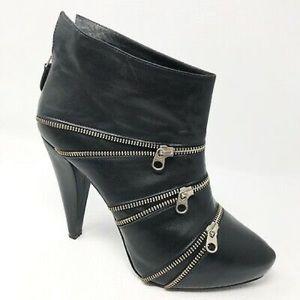 Pour La Victoire New Leather Booties